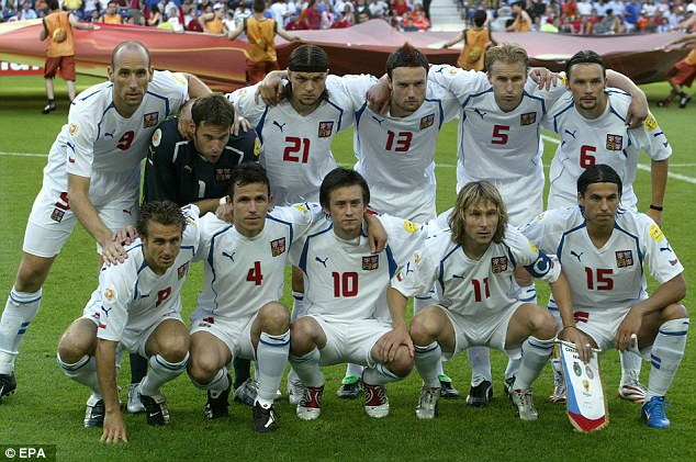 Czech Euro 2004 © Daily Mail