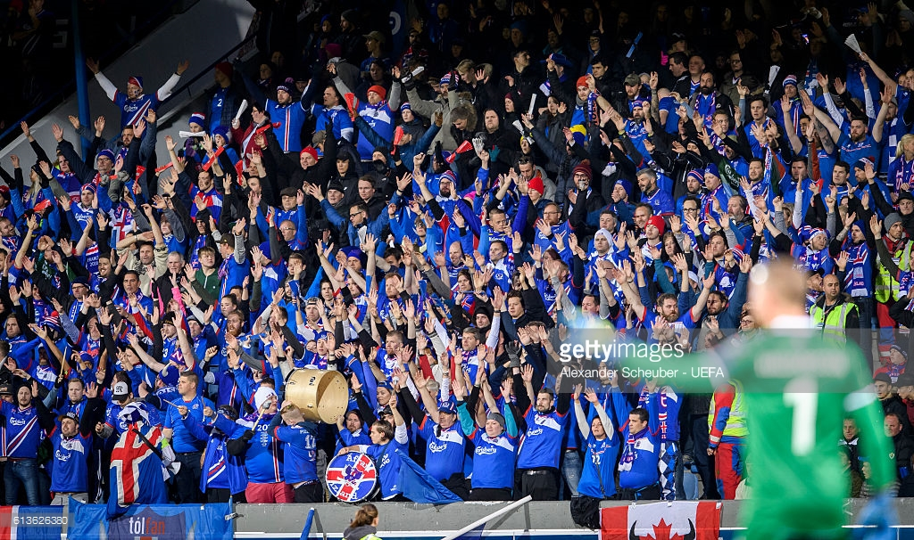 Iceland supporter © getty images