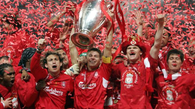 Liverpool Champions League 2005 Final © Fox sports