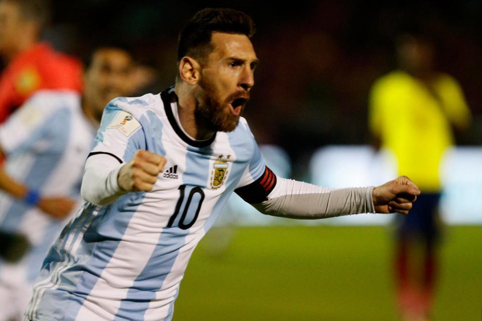 Lionel Messi © The Sun